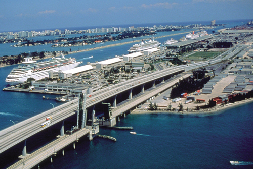 how to get from miami airport to port of miami